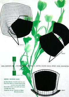 K + kelley green ::  #Bertoia advertisement by Herbert #Matter