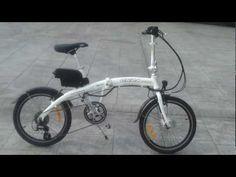 #Bicicleta #electrica plegable #velo #electrique #electric #bicycle, #Bicicleta #electrica #plegable en color negro, #Folding #Electric #bicycles, #velos #electriques  Más información en http://www.ondabike.es/products/112-bicicleta-electrica-plegable-onda-mini-colores-blanco-y-negro.aspx