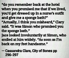 Hahaha city of bones funny