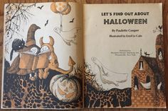 Let's Find Out About Halloween RARE PB OOP illus Errol Le Cain/Paulette Cooper in Books, Children & Young Adults, Children's Picture Books | eBay
