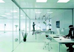 Mamparas de oficina Futura, Montadesk - 02