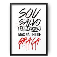 Poster - Salvo Pela Graça