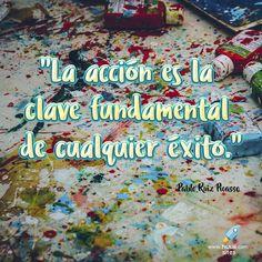 Pablo Picasso #huuii #frases #motivacion #Picasso #exito #accion