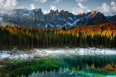 Carezza Lake, Italian Dolomites