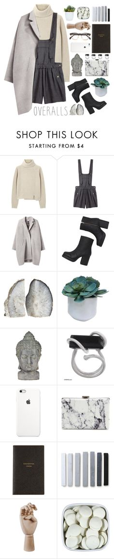 """Playing Up"" by elwitch ❤ liked on Polyvore featuring Proenza Schouler, Étoile Isabel Marant, Zero + Maria Cornejo, Monki, Threshold, Universal Lighting and Decor, NOVICA, Balenciaga, Smythson and HAY"