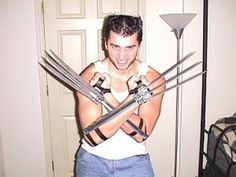 DIY Functional Wolverine claws. Well done and nicely simple. I think YES on this one. Building a set. Killing some stuff.