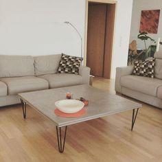 Table basse avec pieds de table ripaton / hairpin legs disponible en 2 ou 3 branches sur ripaton.fr