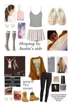"""imagines Singers"" by beingmyselfaf ❤ liked on Polyvore featuring Charlotte Russe, VPL, Topshop, Forever 21, Tasha, Tiffany & Co., Essie, BlissfulCASE, OPI and Charlotte Tilbury"
