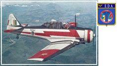aerosngcanela: O North-American T-6  e a Esquadrilha da fumaça