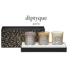 Coffret de 3 bougies Dyptique vu dans la presse à retrouver sur Selectionnist.com