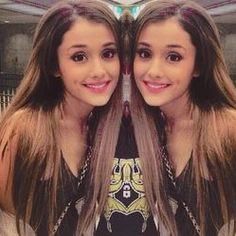 Ariana grande's flawless hair #socute #loveit #awesome