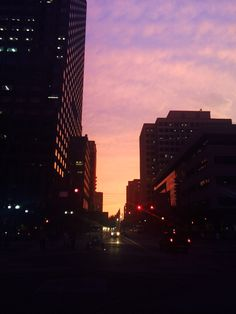 Sunsets at Exchange Place