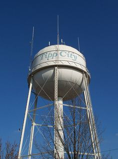 Water tower.......Tipp City, Ohio.