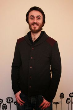 Cuckoo Clock's excellent Newcastle Cardigan.  Great wintery colours!