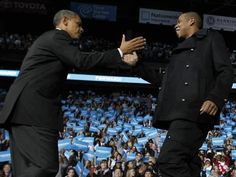 President Obama and Jay-Z. Need I say more?