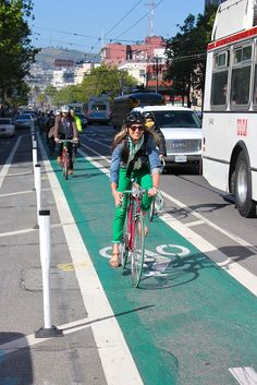 How to Build a Better Bike Lane (and Get More People Out on Bikes) - Commute - The Atlantic Cities