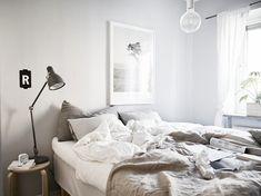 Dormitorios decorados en tonos neutros