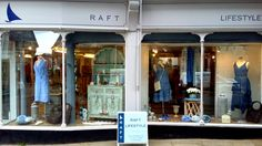 A fresh new look for RAFT of Ledbury ... For more details: Email info@raftclothing.co.uk or Tel. RAFT Ledbury 01531 634566.