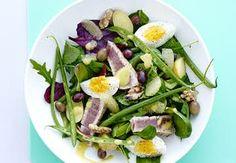 Sund aftensmad på max 30 minutter   Iform.dk Cobb Salad, Potato Salad, Potatoes, Ethnic Recipes, Food, Eten, Potato, Meals, Diet