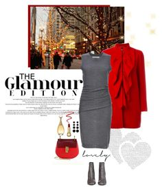 """""""Glamour Edition"""" by frechelibelle ❤ liked on Polyvore featuring Boutique Moschino, Chloé, Susana Monaco, STELLA McCARTNEY, Rebecca de Ravenel, By Terry and Christian Dior"""