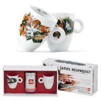 illy collection 2003 Coffee Mug James Rosenquist Coffe flowers ideas. Coffee Flower, Mug Cup, Coffee Mugs, Cups, Tableware, Flowers, Gifts, Collection, Ideas