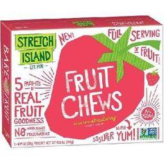 Stretch Island Straw Fruit Chews (12x4.95oz )