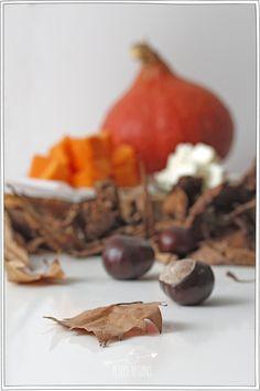 Courge Marrons - Recette d'Automne - Petits Béguins Spaghetti, Mouille, Garlic, Vegetables, Food, Gourds, Conkers, Backyard Farming, Kitchens