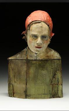 ☥ Figurative Ceramic Sculpture ☥  Thaddeus Erdahl