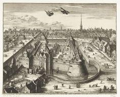 Slot Vredenburg te Utrecht in welstand, vóór 1577, Coenraet Decker, Steven van Lamsweerde, 1701 - 1703