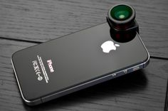 OlloClip fisheye, wide-angle and macro lenses for the iPhone 4 and 4S $67.99
