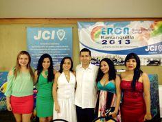 ERCA (Escuela Regional Caribe) JCI Colombia 2013.