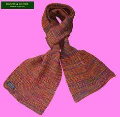Bassin & Brown - Birdseye Wool Scarf https://sites.google.com/site/bassinbrownscarfcollection/home
