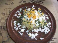 Geriebener Kartoffelsalat - aus der Rezeptsammlung des Kartoffel Hotel Lüneburger Heide