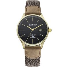Barbour Mens Date Display Watch - BB021GDHB from WatchWarehouse