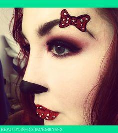 Minnie mouse | Emily G.'s (EmilyJayneMakeup) Photo | Beautylish