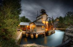 A Stormy Night At The Mill
