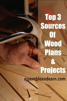 """""""A woodworking project is as good the plan you have made for it"""". Here's how to find the best laid woodworking plans for ANY project."""