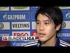 Atsuto Uchida Talks Schalke's Win Over Augsburg - YouTube