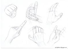 How to Draw Caricatures Step by Step   How to draw hands - Step by step guide - Examples   Drawing Lessons