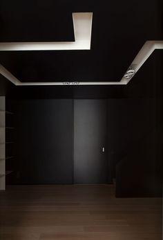 Black interiors are sexy.