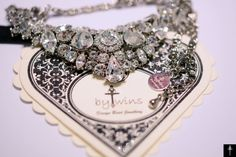 Items similar to Crystal Bridal Necklace , Vintage Inspired Necklace , Wedding Necklace , Bridal Accessories, Bridesmaid Jewelry on Etsy Bridal Necklace, Bridal Jewelry, Unique Jewelry, Vintage Fashion, Vintage Style, Women's Fashion, Here Comes The Bride, Bridesmaid Jewelry, Fashion Lookbook