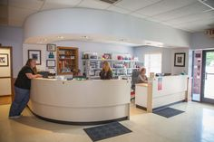 Palmetto Animal Hospital's lobby is clean and spacious to help your pet feel comfortable and calm.