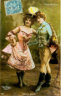 Victorian Circus Costumes