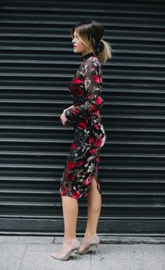 Robe Mi-longue Noire Fleurie Caroline Receveur by Missguided Hair Inspo, Hair Inspiration, Hair Color And Cut, Pinterest Hair, Mode Style, Cut And Style, Hair Dos, Short Hair Styles, Hair Beauty