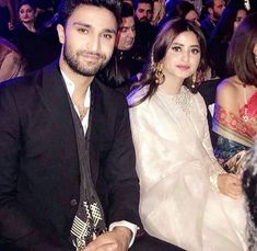 Pakistani Wedding Outfits, Pakistani Bridal, Pakistani Dresses, Indian Dresses, Cute Couple Art, Cute Couple Pictures, Sajjal Ali, Bengali Saree, Stylish Girl Pic