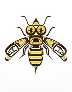 Bee, William Jr. Wasden, Northwest Canadian Coast (Kwakwaka'wakw (Namgis)), limited edition print, 2012