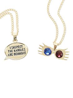 Harry Potter Luna Lovegood Spectrespecs Necklace SetHarry Potter Luna Lovegood Spectrespecs Necklace Set,