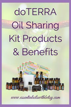 """doTERRA Oil Sharing Kit Products & Benefits Are you coming into doTERRA wanting to share health and wellness with those who will benefit from it? Possibly a business builder looking to earn income with doTERRA? Or even just looking to keep """"options open for later""""? If any of those sound a little bit like you, then you might want to consider the Oil Sharing Kit. Who should enroll with a doTERRA Oil Sharing Kit?"""