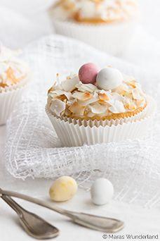 ... easter lemon cupcakes ...
