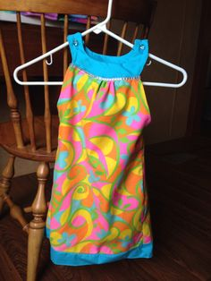 One of the dresses I made Miss Brynlee